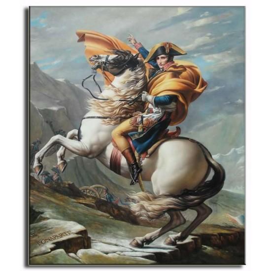 Bức Tranh Napoleon Cưỡi Ngựa