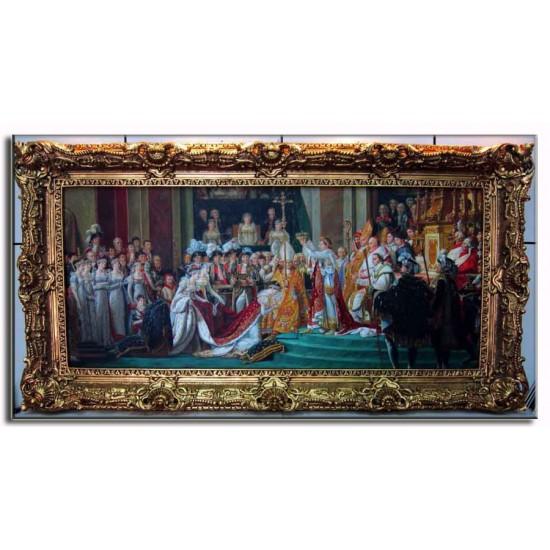 Khung cảnh lễ đăng quang của Napoleon