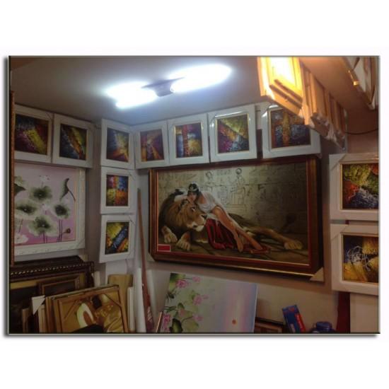 Tranh Sơn Dầu Cổ Điển Nữ Hoàng Ai Cập CD45