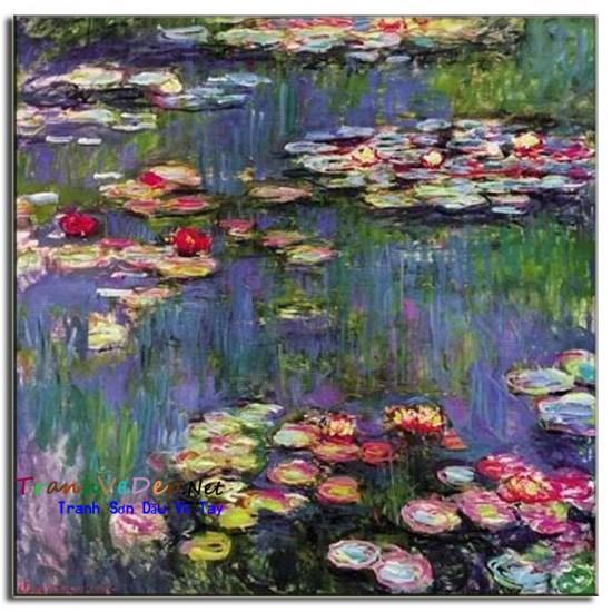 Tranh Sơn Dầu Claude Monet M02