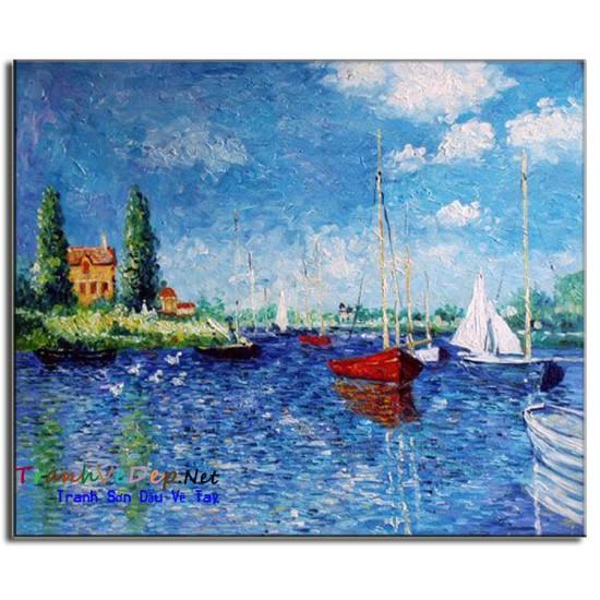 Tranh Sơn Dầu Claude Monet M04