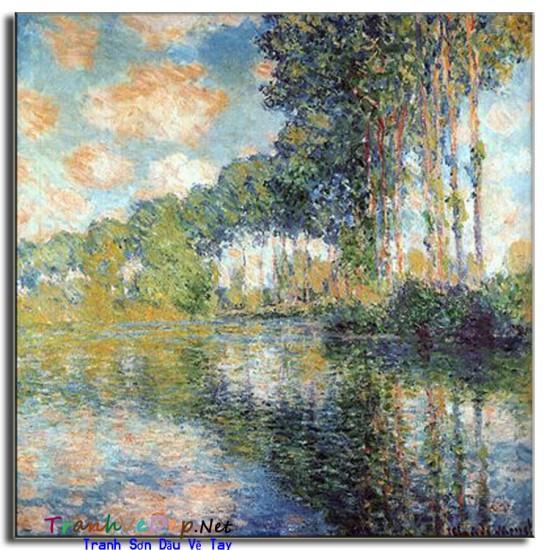 Tranh Sơn Dầu Claude Monet M06