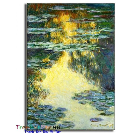 Tranh Sơn Dầu Claude Monet M08