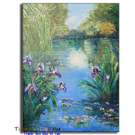 Tranh Sơn Dầu Claude Monet M09