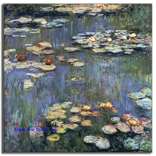 Tranh Sơn Dầu Claude Monet M12