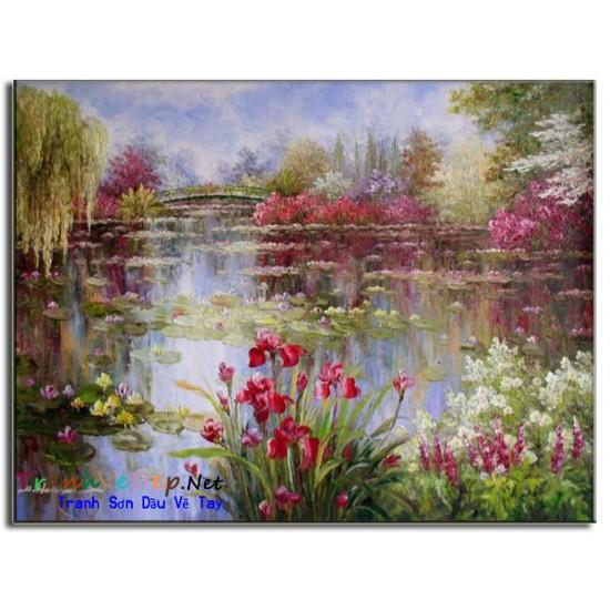 Tranh Sơn Dầu Claude Monet M13