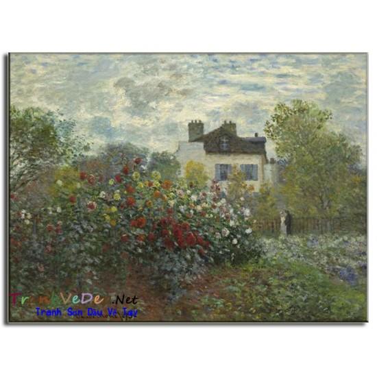 Tranh Sơn Dầu Claude Monet M14