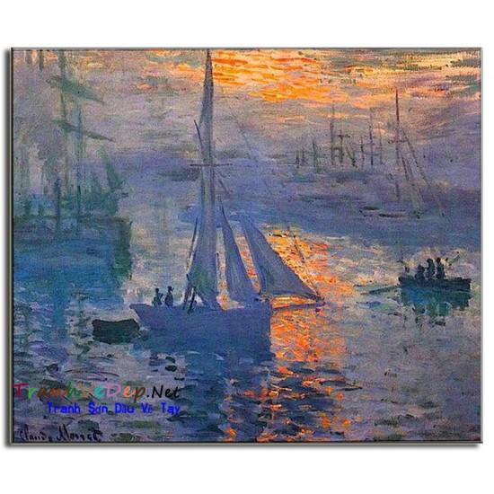 Tranh Sơn Dầu Claude Monet M17