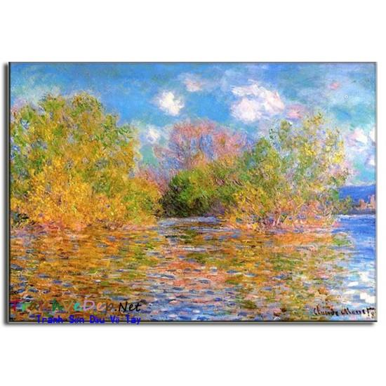 Tranh Sơn Dầu Claude Monet M18