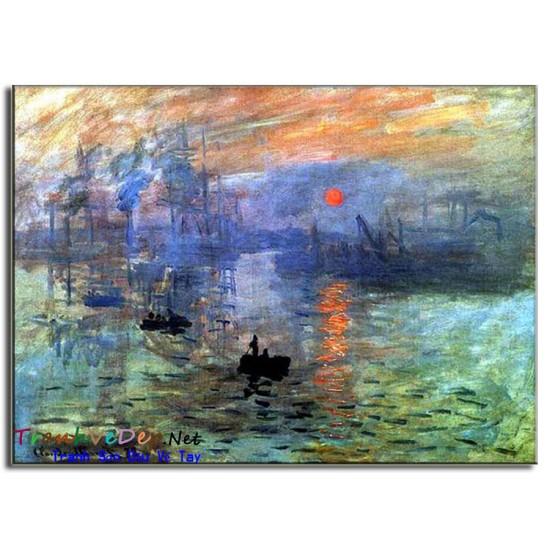 Tranh Sơn Dầu Claude Monet M19