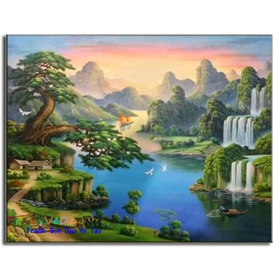 Phong Cảnh Thiên Nhiên, Thác Nước P27
