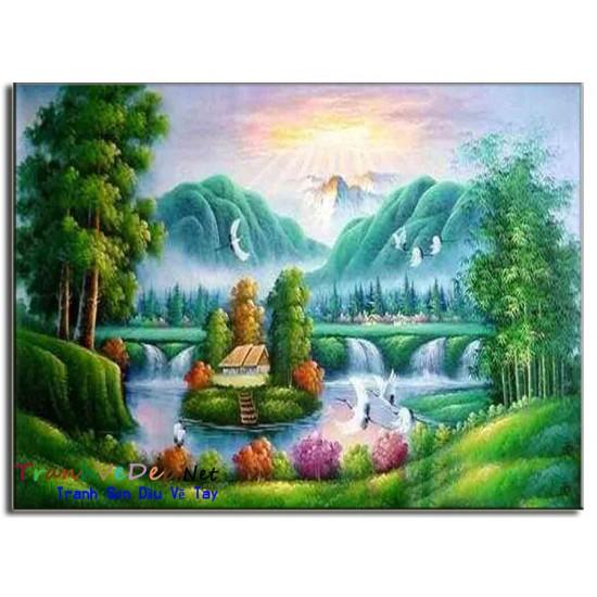 Phong Cảnh Thiên Nhiên, Thác Nước P39