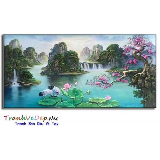 Phong Cảnh Thiên Nhiên, Thác Nước P40