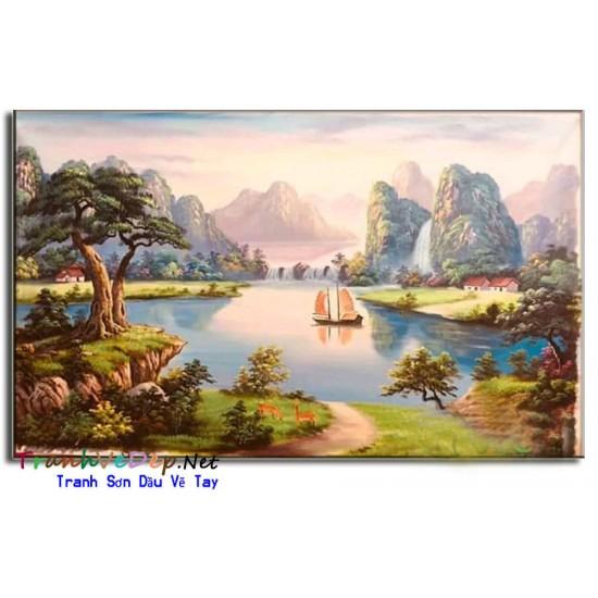 Phong Cảnh Thiên Nhiên Thác Nước P43