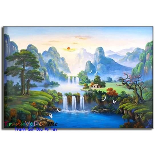 Phong Cảnh Thiên Nhiên Thác Nước P44