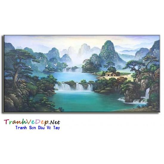 Phong Cảnh Thiên Nhiên Thác Nước P46