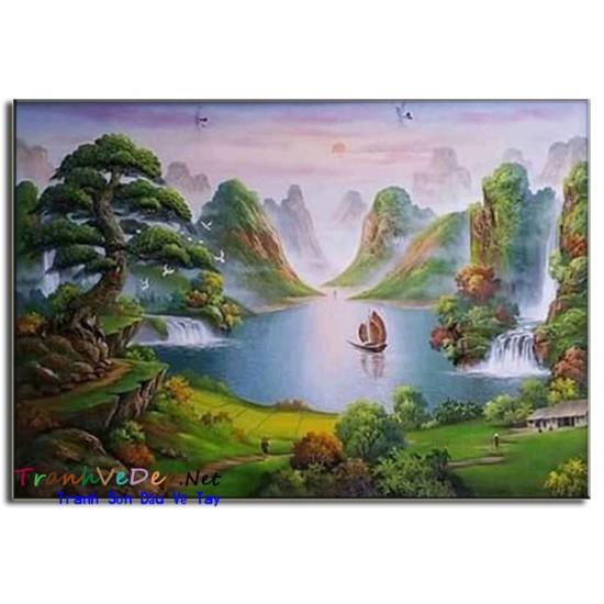 Phong Cảnh Thiên Nhiên Thác Nước P48