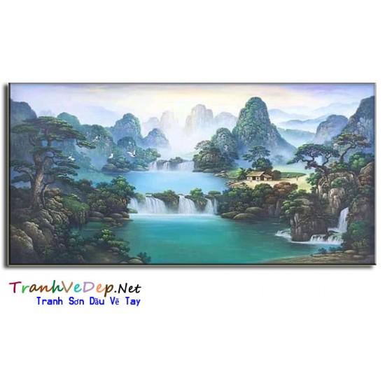 Tranh Sơn Dầu Thuận Buồm Xuôi Gió P05
