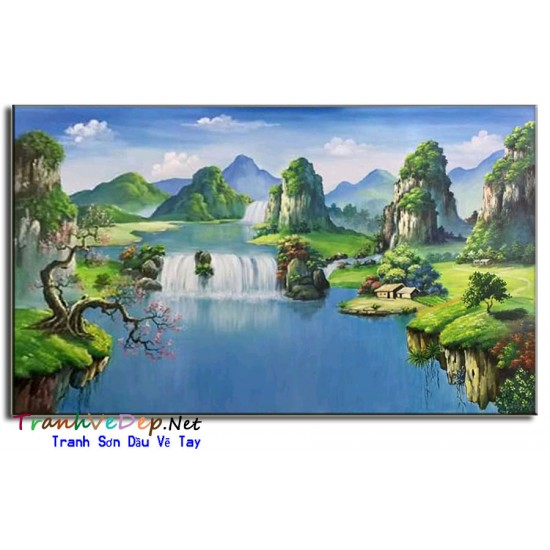 Phong Cảnh Thác Nước Hùng Vĩ P06