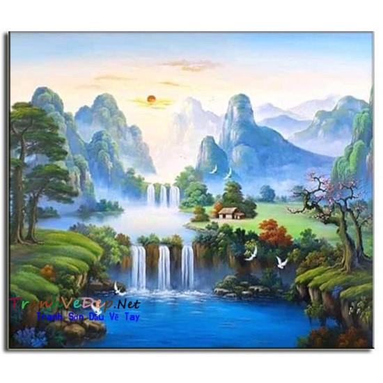 Phong Cảnh Thiên Nhiên, Thác Nước P07