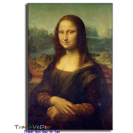 Tranh Sơn Dầu nàng Mona Lisa