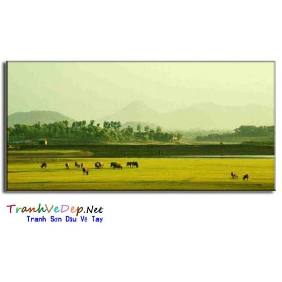 Tranh Đồng Quê Việt Nam V17