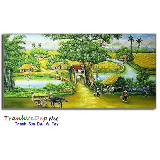 Tranh Đồng Quê Việt Nam V21
