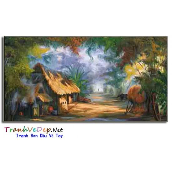 Tranh Đồng Quê Việt Nam V39