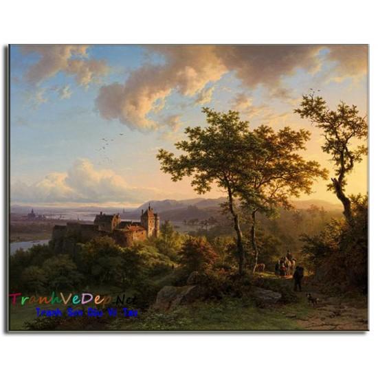 Tranh phong cảnh Nga Cao Cấp N01