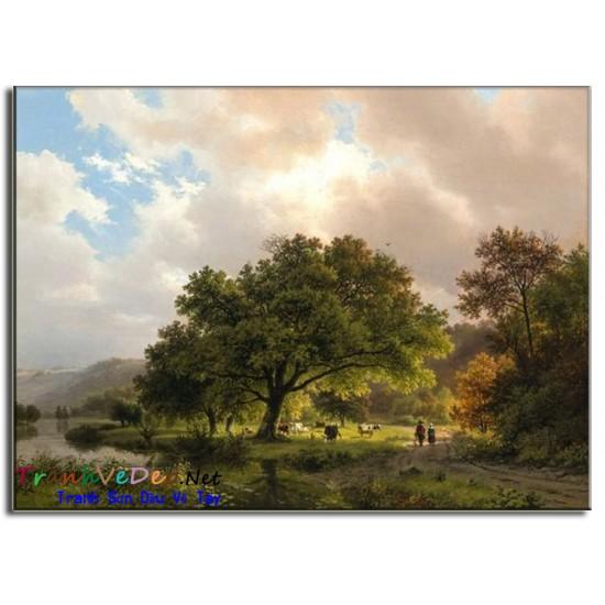 Tranh phong cảnh Nga Cao Cấp N12