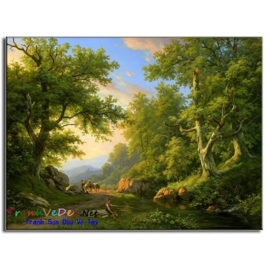 Tranh phong cảnh Nga Cao Cấp N22