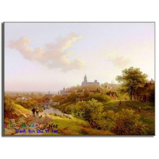 Tranh phong cảnh Nga Cao Cấp N25