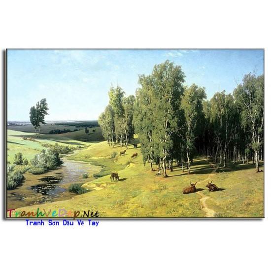 Tranh phong cảnh Nga Cao Cấp N27
