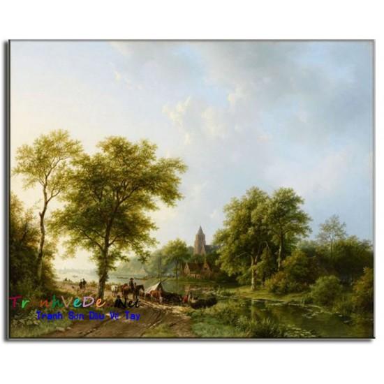 Tranh phong cảnh Nga Cao Cấp N33