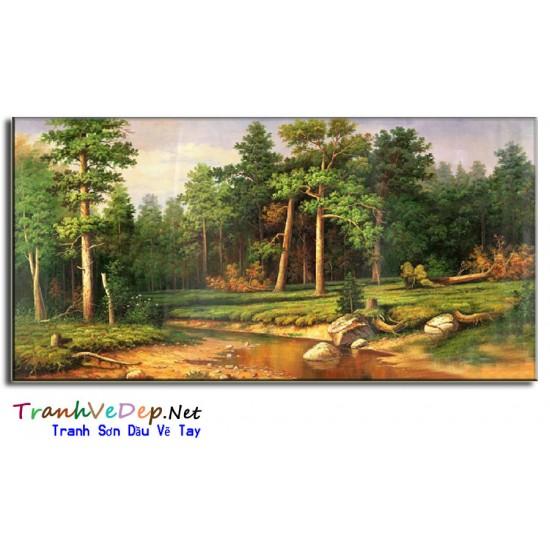 Phong Cảnh Rừng Sồi P34