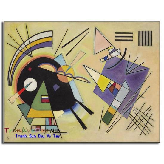 Tranh Trừu Tượng Vasily-Kandinsky K05